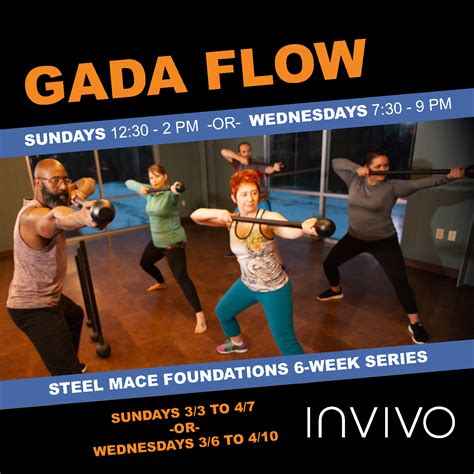 Gada Flow Steel Mace Workout Series | INVIVO Physical ...