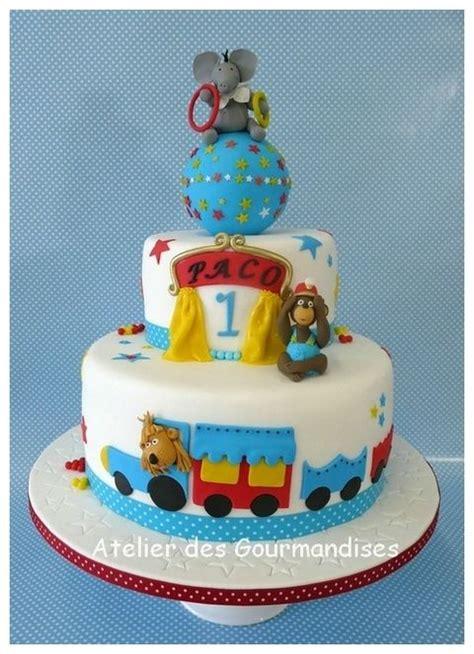 gateau anniversaire pate a sucre garcon g 226 teau cirque d 233 coration en p 226 te 224 sucre pour paco blogs de cuisine