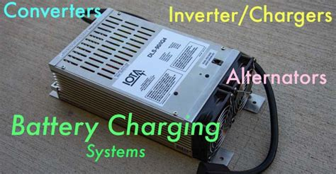 Marine Battery Charger Converter by Rv Converter Inverter Charger Alternator Battery Charging