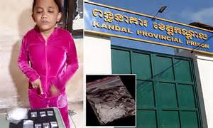 Cambodian girl arrested for being drug mule but may be too ...