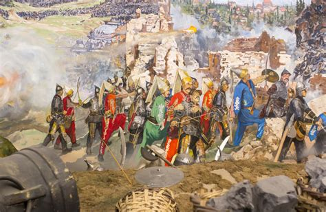 Fall Of Constantinople Editorial Stock Image. Image Of