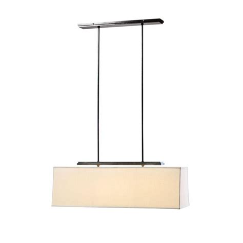 flax shade rectangle chandelier 9929 browse
