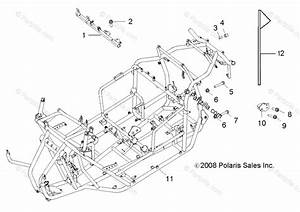 Polaris Side By Side 2018 Oem Parts Diagram For Chassis