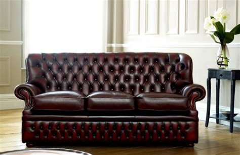 Monks Red Chesterfield   The Chesterfield Company