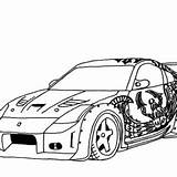 Coloring Pages Cars Drifting Drift Tokyo S2000 Honda Dk Street Kidsplaycolor sketch template