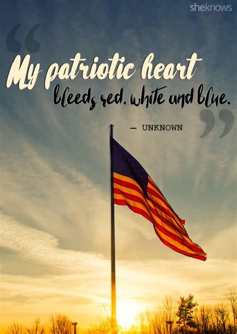 inspirational patriotism quotes  sayings
