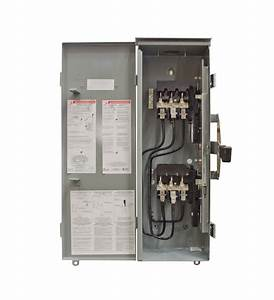 200a Winco Manual Transfer Switch  Mts   3 Pole