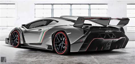 Lamborghini Veneno Vs Lamborghini Aventador Wide