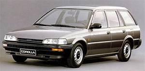 Technische Daten Von Toyota Corolla  Baureihe Und Baujahr