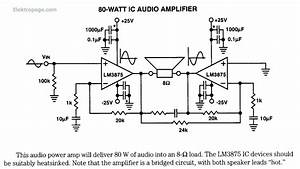 80 Watt Ic Audio Amplifier Lm3875 80 Watt Ic Audio