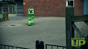Minecraft: Creeper explosion in Real Life - Videos - Show ...