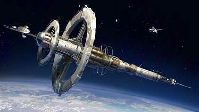 Space Station Sci Fi Desktop Cool Lockscreen