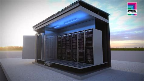rittal data center container standard youtube