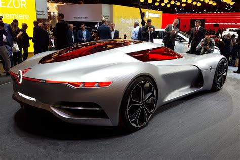 Renault Concept by Renault Trezor Concept Car Revealed In Pictures