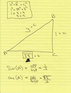 Solution  Sin X  1  3  Find Cos X