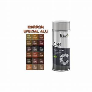 bombe de peinture pour aluminium 2k ral marron brillant With bombe de peinture pour aluminium