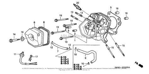 Honda Engines Gxk Qaa Engine Jpn Vin Gcaa