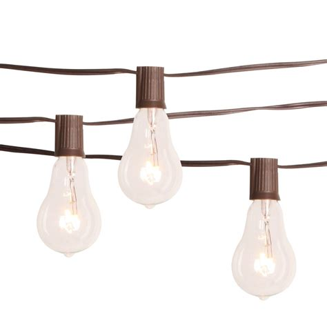 the home depot edison bulb string lights the home depot