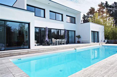 grande cuisine vertou somptueuse maison contemporaine avec piscine en