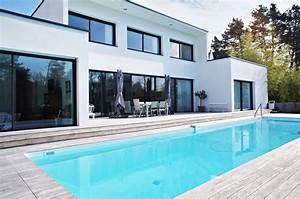 vertou somptueuse maison contemporaine avec piscine en With photo maison avec piscine