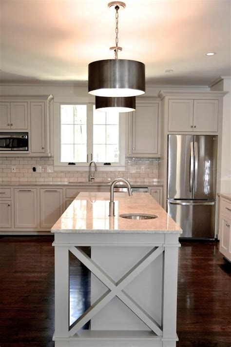 of pearl quartzite contemporary kitchen
