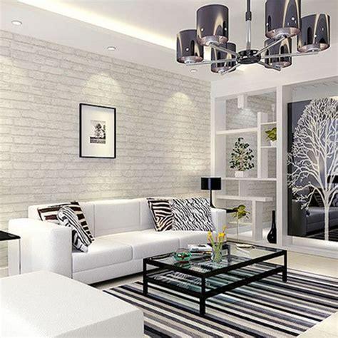 wallpaper livingroom white grey looking brick pattern wallpaper wp120