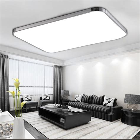 led beleuchtung wohnzimmer 96w led panel led deckenleuchte wohnzimmer beleuchtung led deckenle mit fb de haus in 2019