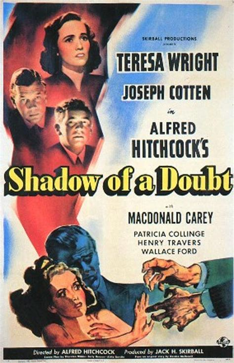 8-shadowofadoubt in 2020 | Movie posters vintage, Film ...