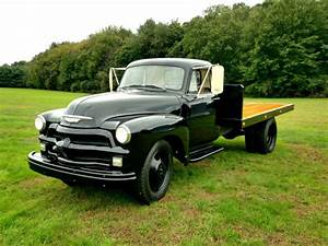 1954 Chevy 4400 Truck Flatbed  1 5 Ton Heavy Duty With