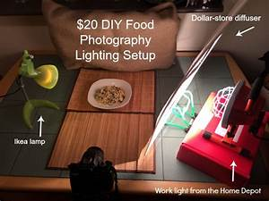 My DIY $20 Lighting Kit for Food Photography - Cooking By Laptop