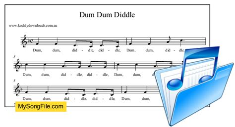 dum dum diddle my song file 434 | 239