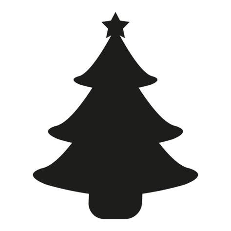silueta 225 rbol de navidad descargar png svg transparente