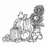 Harvest Coloring Fall Pages Festival Printable Drawing Sheets Toddlers Printables Drawings Pumpkin Loving Getcolorings Sketch Getcoloringpages Getdrawings Bestcoloringpagesforkids Template sketch template