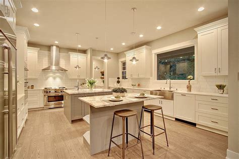white kitchen island 27 amazing island kitchens design ideas 1366