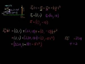 Einheitsvektoren Berechnen : geschossflugbahn mit einheitsvektoren berechnen youtube ~ Themetempest.com Abrechnung