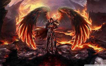 Animated Wallpapers Magic Fire Backgrounds Angel Inferno