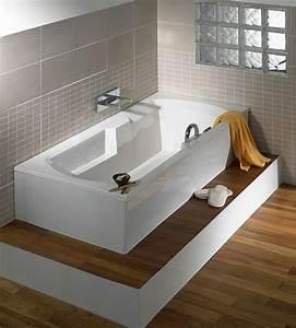 Habillage Baignoire Bois : les 25 meilleures id es de la cat gorie tablier baignoire ~ Premium-room.com Idées de Décoration