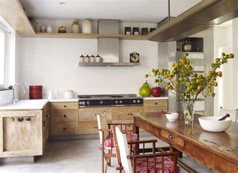 Cozinha Rústica E Clean