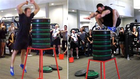 video canadian personal trainer smashes highest standing