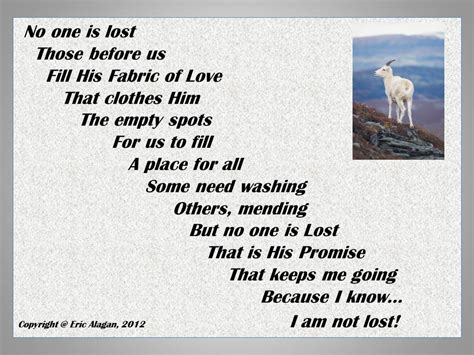 No Lost Sheep Written Words Never Die