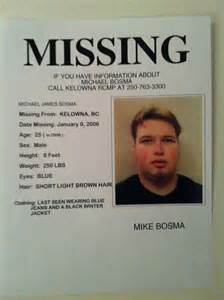 Canada Missing Persons