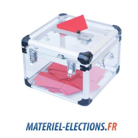 urnes de vote pour 233 lection professionnelle ou associative