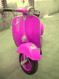 56 best Pink Paint | Vintage Vespa Scooters images on ...