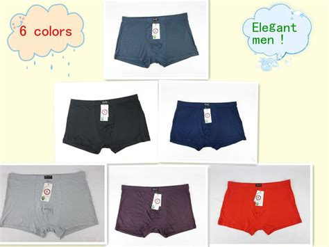 Top ! Men Underwear 5 Pieces Lot Men's Boxer Shorts
