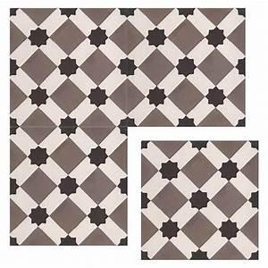 Carreaux De Ciment Noir Et Blanc : livny carreaux de ciment 20 x 20 gris carra france ~ Dailycaller-alerts.com Idées de Décoration