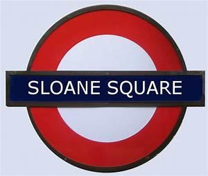 Sloane Square Tube Station London