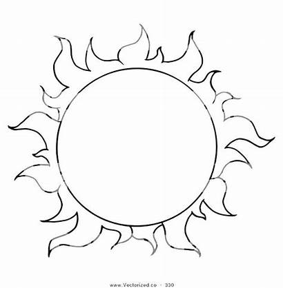 Sun Coloring Pages Moon Half Colouring Skyrim
