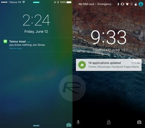 ios for android ios 9 vs android m which os interface is king