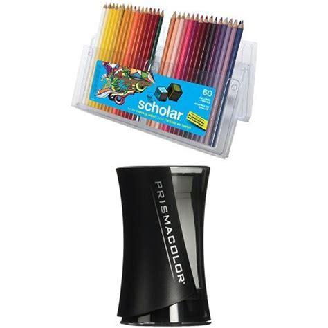 prismacolor scholar colored pencils 60 prismacolor scholar colored pencils 60 pack with pencil