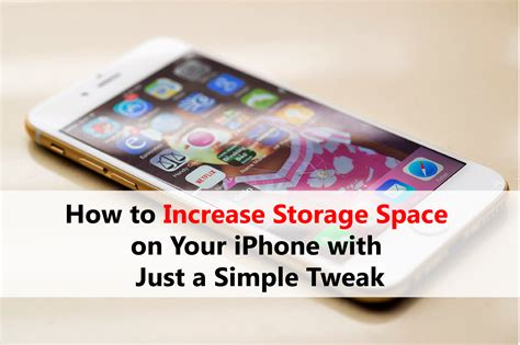increase storage on iphone how to increase storage space on your iphone with just a